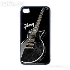 Gibson Guitar Back Hard Case Apple Iphone 4 4G Cover