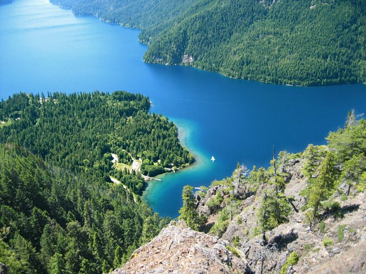 Crescent Lake, Olympic National Park, Washington. I'm so glad I have