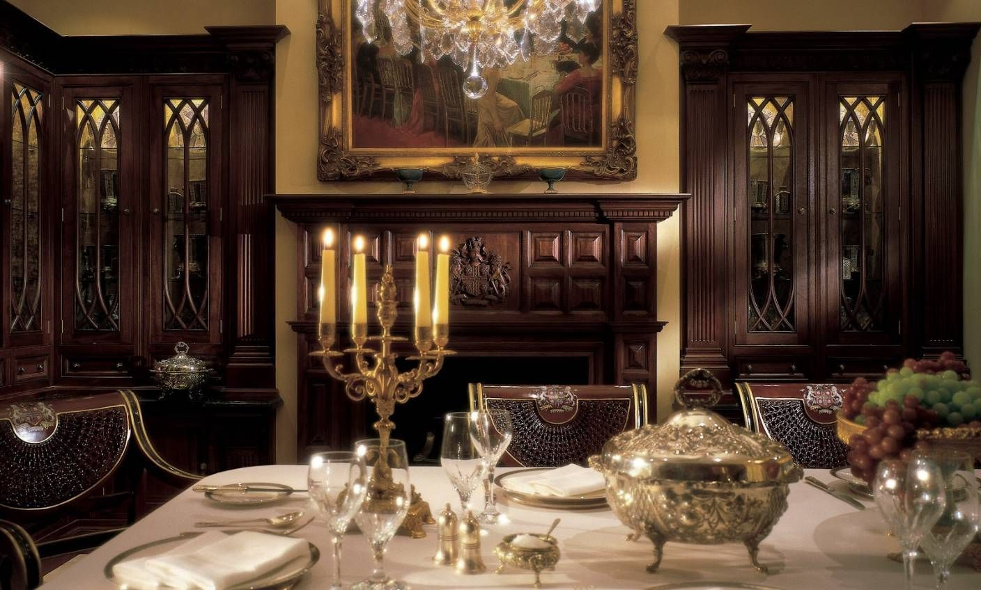 Home Design And Decor Luxury Dining Table Centerpieces Candelabra