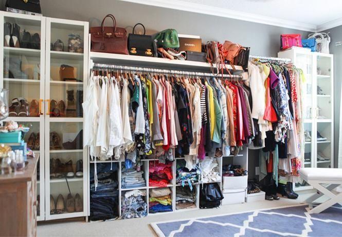 Astuces pour optimiser le rangement de son dressing | Dressing ...