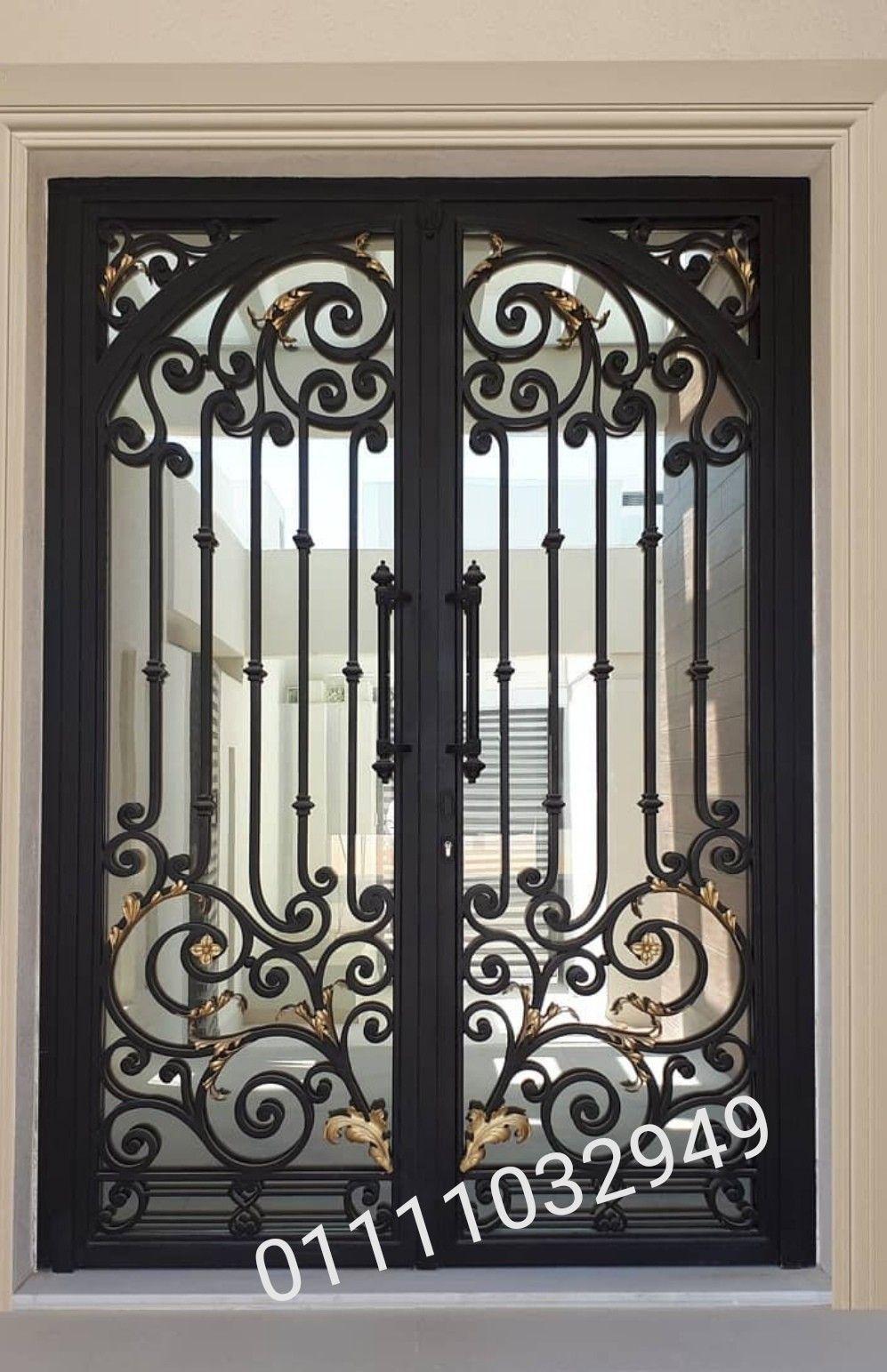 ابواب حديد كريتال Door Gate Design Ceiling Light Design Ceiling Design Modern