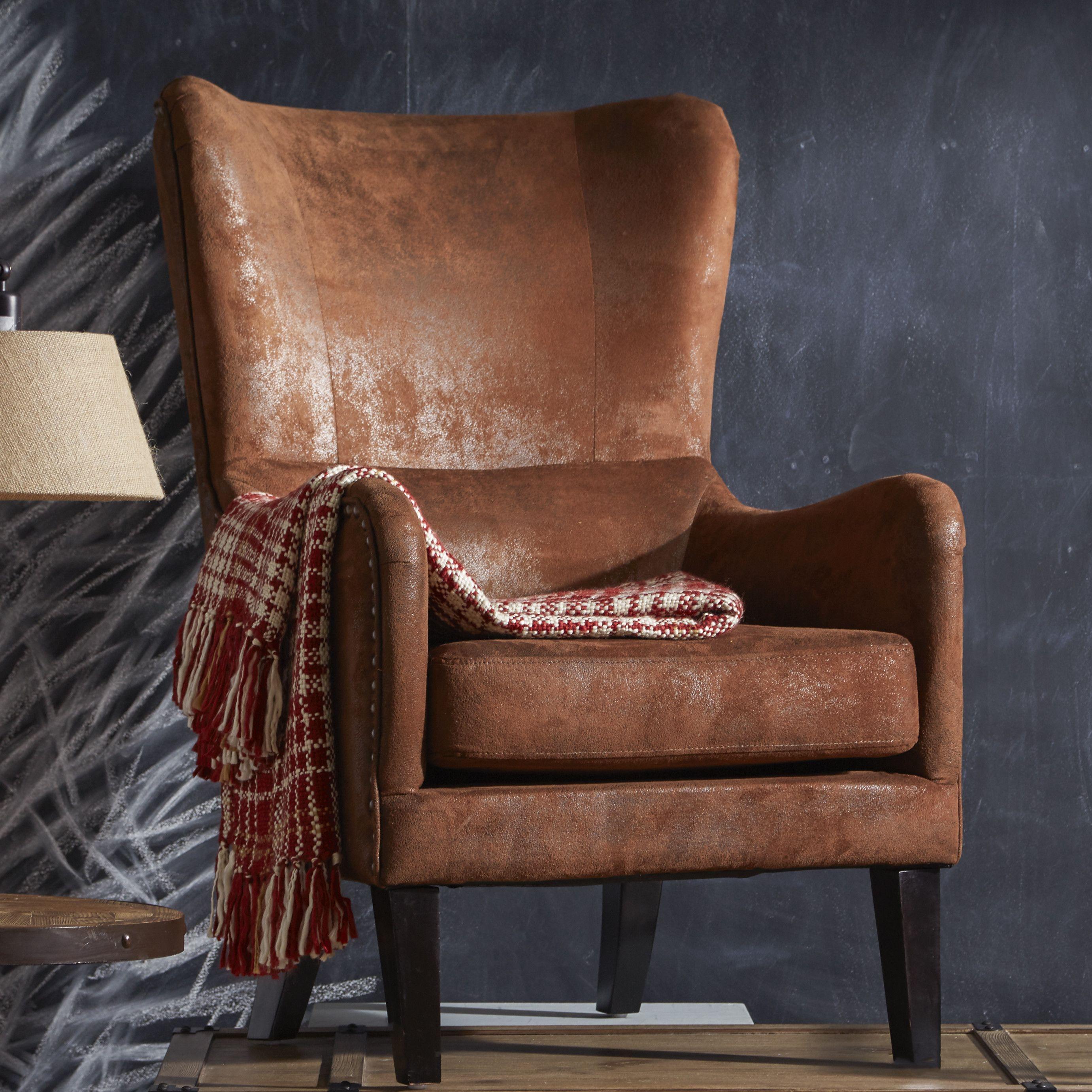 Alcott Hill® Gordon High Back Wingback Chair