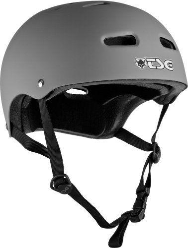 Tsg Skate Helmet Flat Gray Small Medium By Tsg 25 84 Tsg Helmets Are Designed By The Worlds Top Professional Skateboarde Skateboard Pads Skate Helmets Bmx