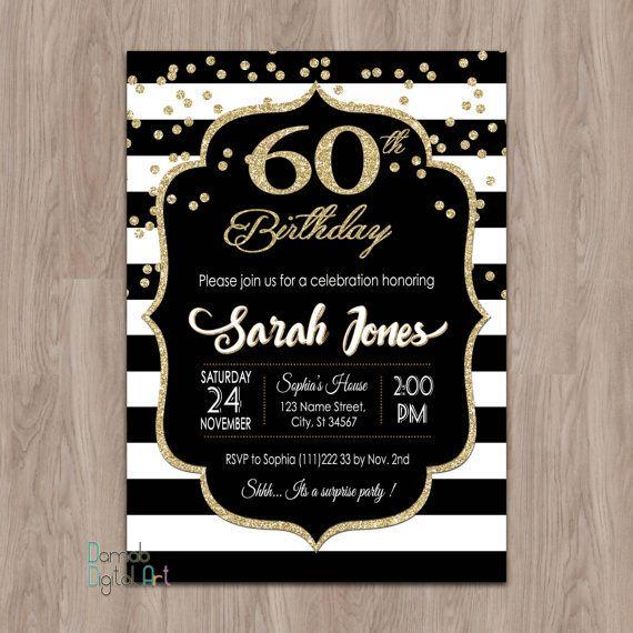 Items Similar To Surprise Birthday Invitation On Etsy