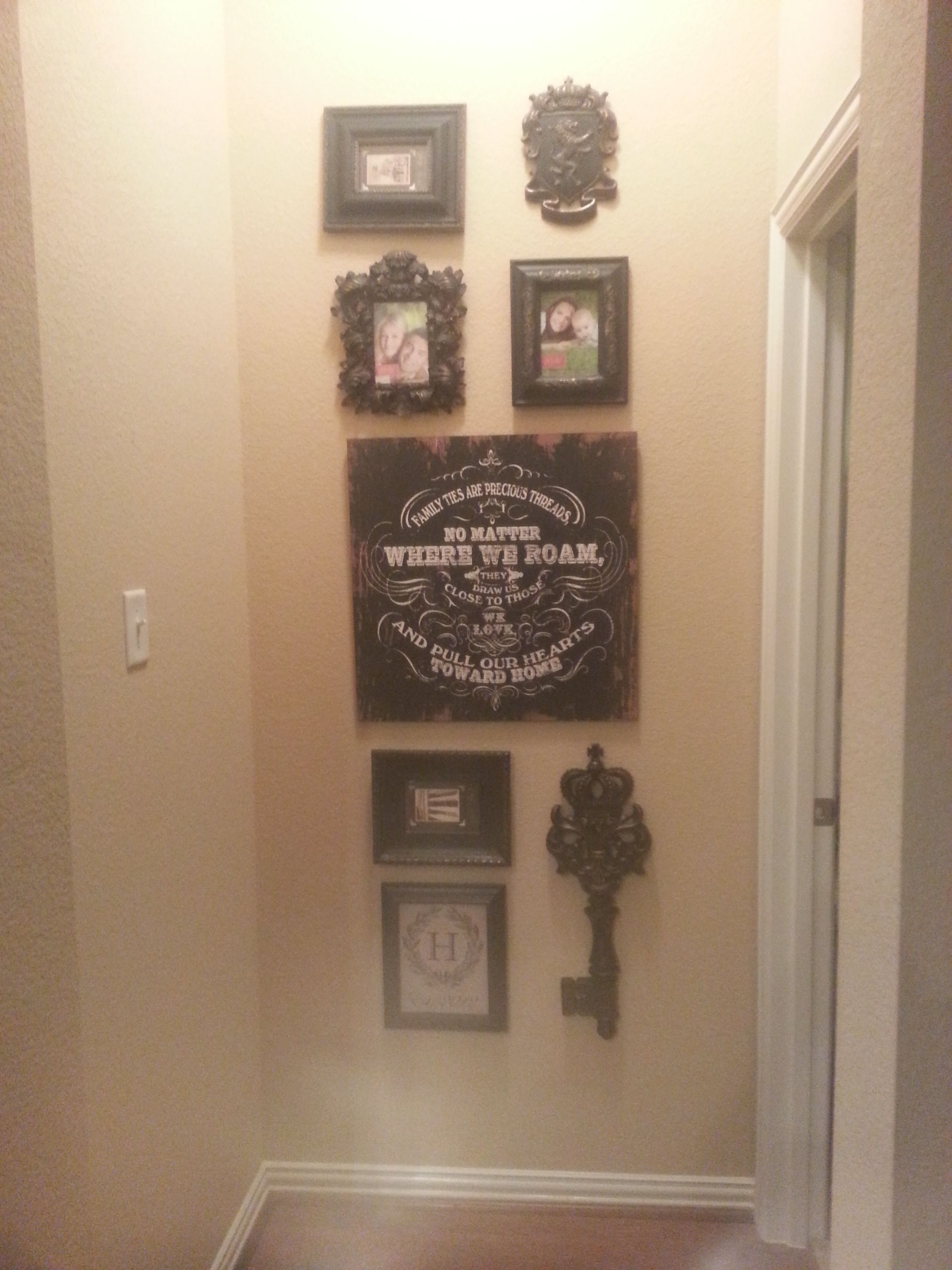 End of hallway ideas  narrow wall decor for end of hallway or nook in awkward spaces in
