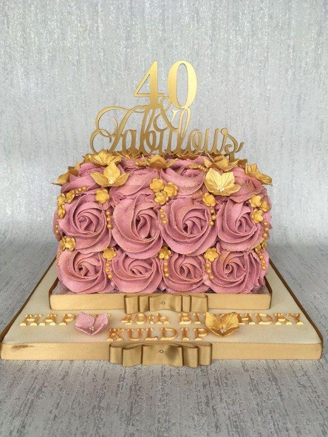 26 Beautiful Image Of Rose Birthday Cake Ideas Rose Birthday
