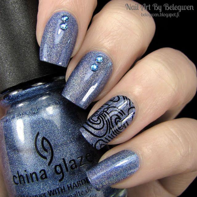 Nail Art By Belegwen China Glaze High Def My Nail Art Designs