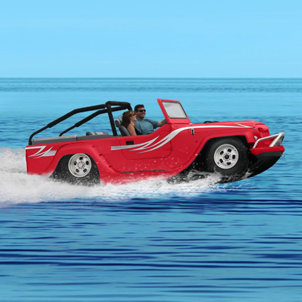 the world 39 s fastest amphibious car speeding over the water at 44 mph and reaching 80 mph on. Black Bedroom Furniture Sets. Home Design Ideas