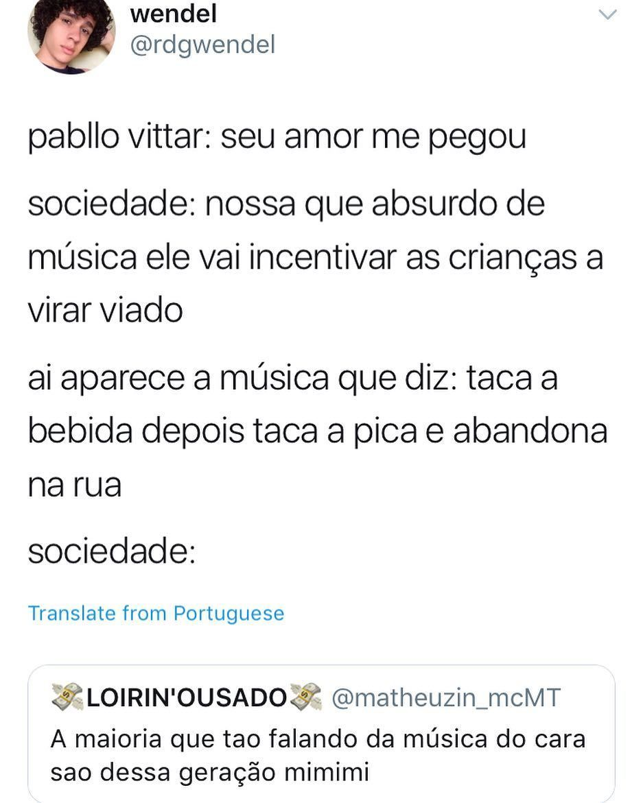 Tudo Lixo Pseudo Musical Um Crime Contra A Musica E A Sociedade E