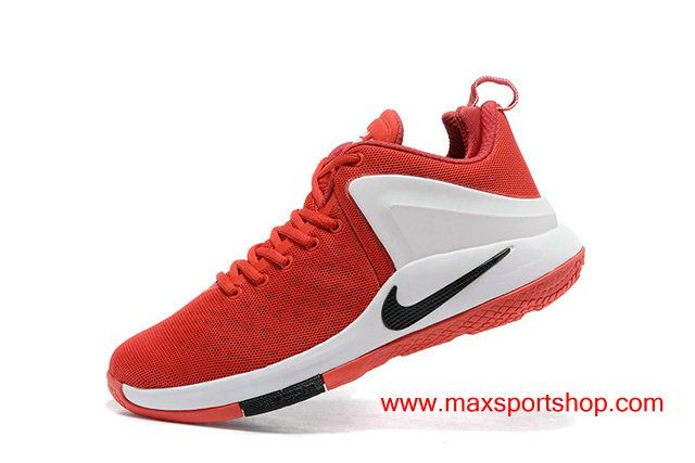 5c80623e10d94 2017 Summer Nike Lebron Witness Red White Black Logo Basketball Shoes  67.00
