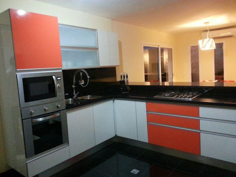 orange high gloss kitchen a kitchen Pinterest Gloss kitchen