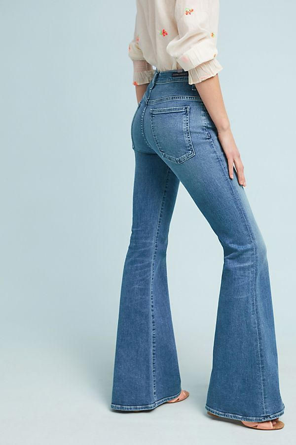 half price classic quality products Citizens of Humanity Chloe Mid-Rise Super Flare Jeans | My ...