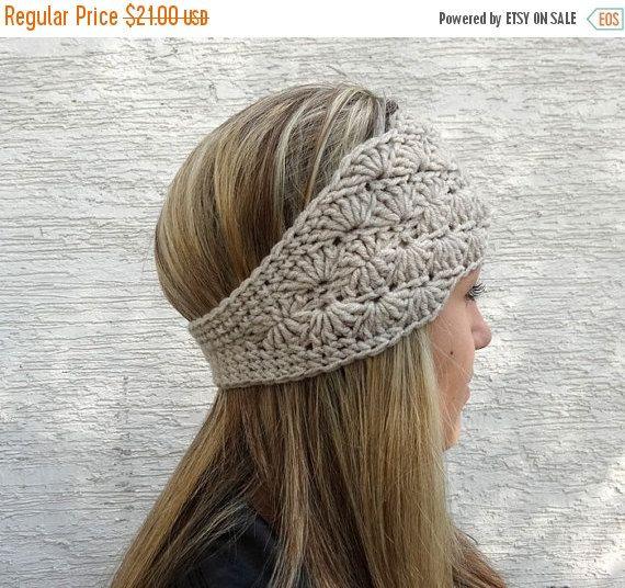 Septiembre venta Crochet venda del oído de más por ANINAhandmade ...