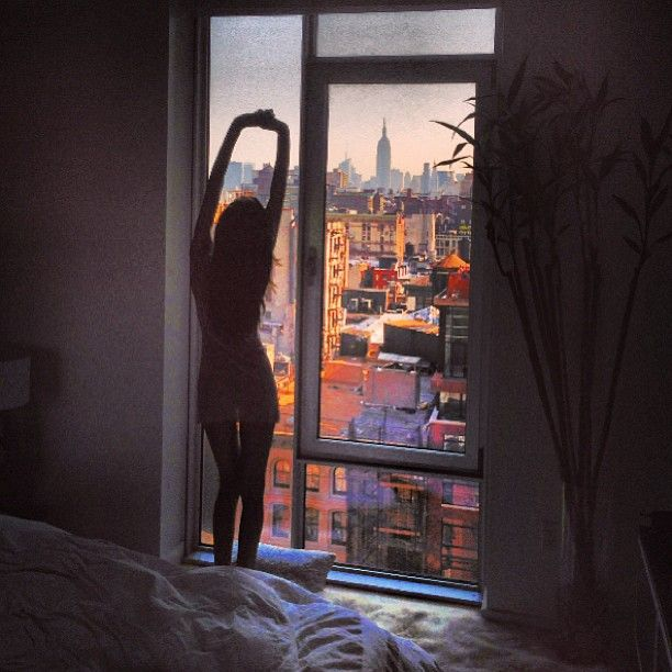 Wake Up To A Fresh Bedroom Style: In My First Apartment...I Want To See A Beautiful City