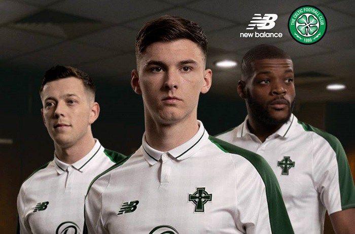 Celtic FC 2018 19 New Balance Away Kit  73575e2d2