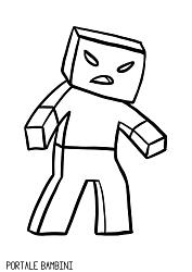 Disegni Di Minecraft Da Stampare E Colorare Gratis Nel 2020 Pagine Da Colorare Disegni Minecraft