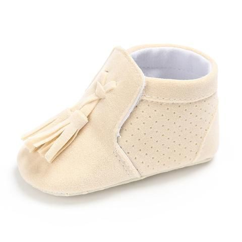 7ab91d87ffc2 2018 Baby Girl First Walkers Soft Sole Non-slip Fringe Baby Shoes Spring  Autumn Infant Crib Shoes Newborn Toddler Girl Boots