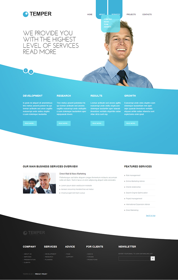Temporary business joomla template by html5 web templates joomla temporary business joomla template website buy temporary business joomla template business most popular wide templates joomla templates cheaphphosting Choice Image