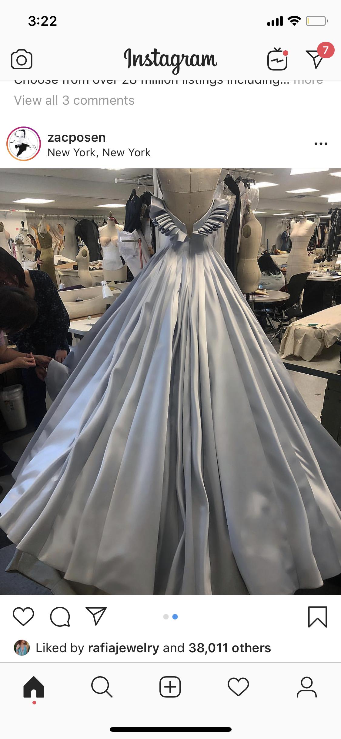 Zac Posen For Ariana Grande Zac Posen Dress Zac Posen Gown Zac Posen Wedding Dress [ png ]
