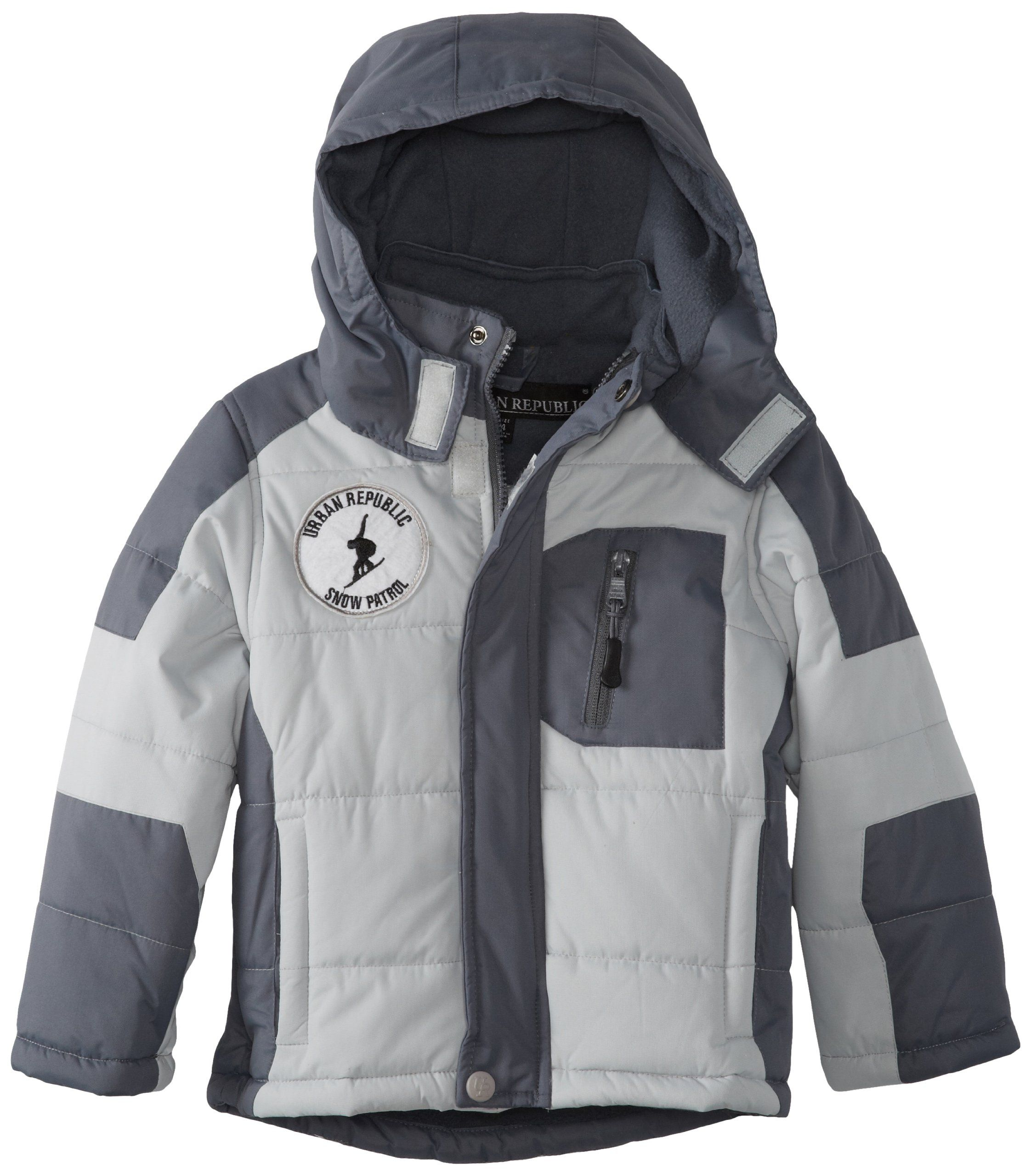 b44e518d7 Urban Republic Little Boys  Color-Block Puffer Jacket. Quilted ...