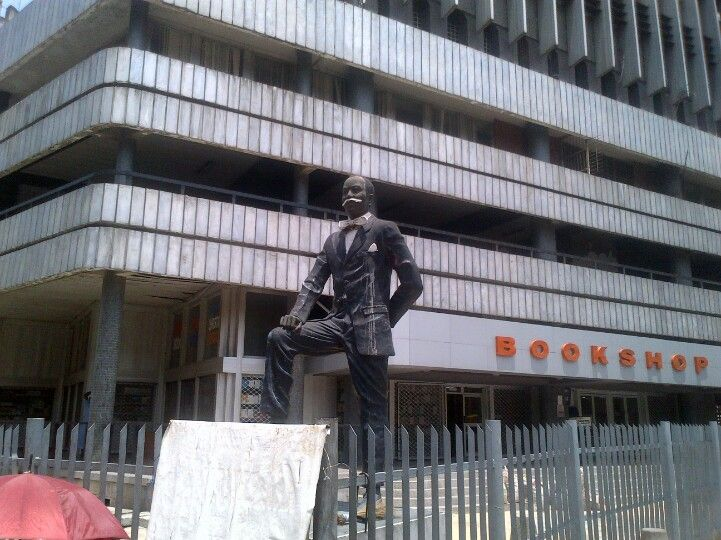 Image result for Herbert Macaulay Statue in Lagos