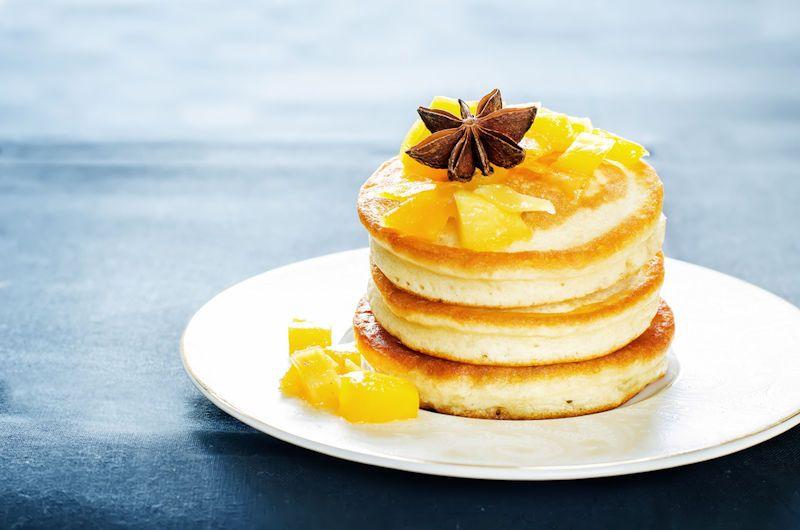 Suikervrije recepten: Amandelmeelpannenkoekjes met appel