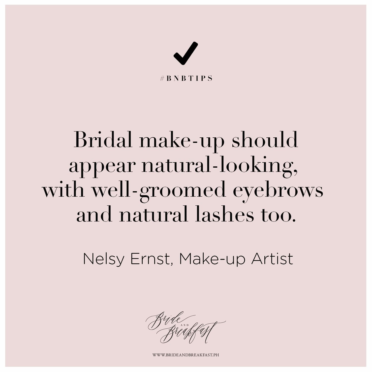 Bridal make-up should appear natural-looking with well ...