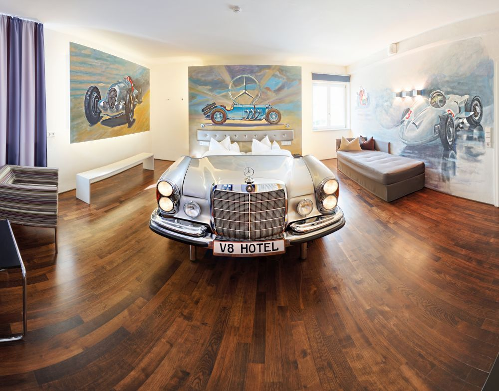 Germany For Car Lovers 11 Experiences That Will Make Your Heart Race Car Themed Rooms Hotel Theme Hotel