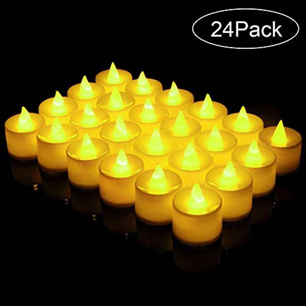 Led Kerzen Led Teelichter Led Flammenlose Tealights Nakeey Led