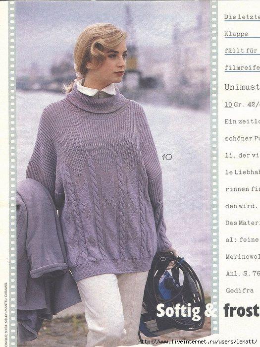 Folder 525x700 243kb Moda Swetry Pinterest Knit Patterns