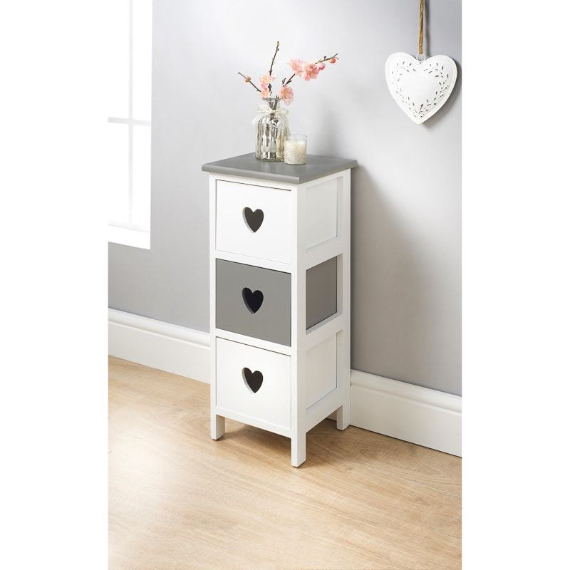 Chloe 3 Drawer Chest Storage Furniture Chest Of Drawers Furniture