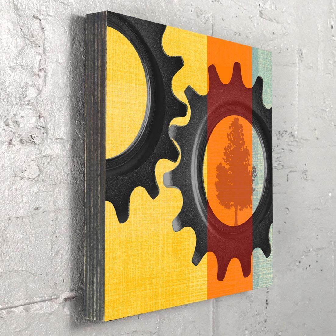 Gears - Bike Part and Nature Photography Art on Wood | Products ...