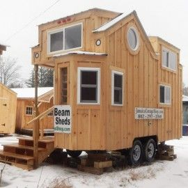 Perfect Check Out This Tiny House On Wheels For Sale. Built For Off Grid Living  With A Solar Package, Composting Toilet, Solid Fuel Heater U0026 Quality  Insulation.