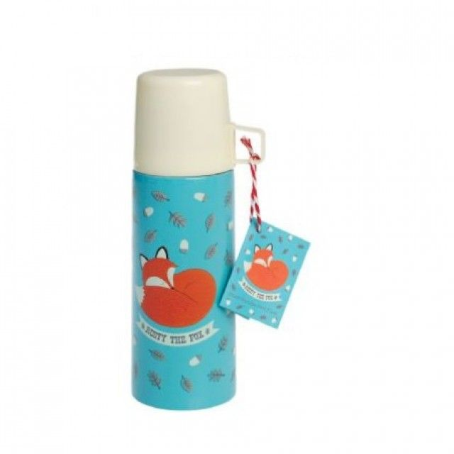thermos & beker 'Rusty the fox'