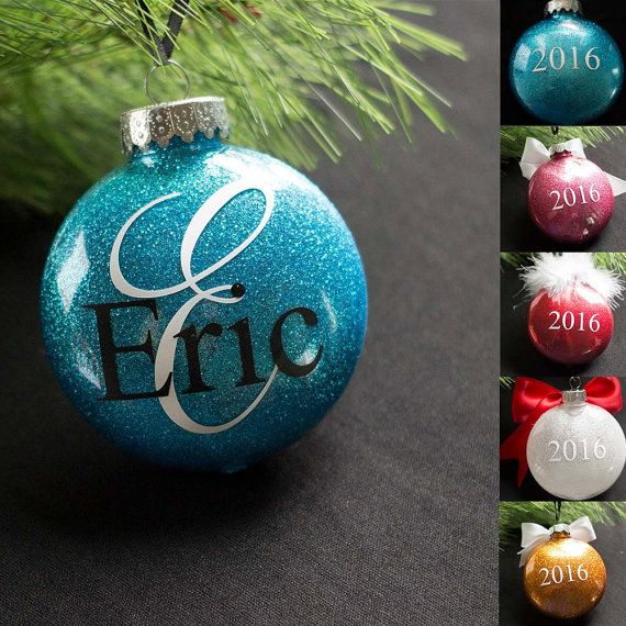 Personalized Christmas Ornaments Are Such A Fun Holiday