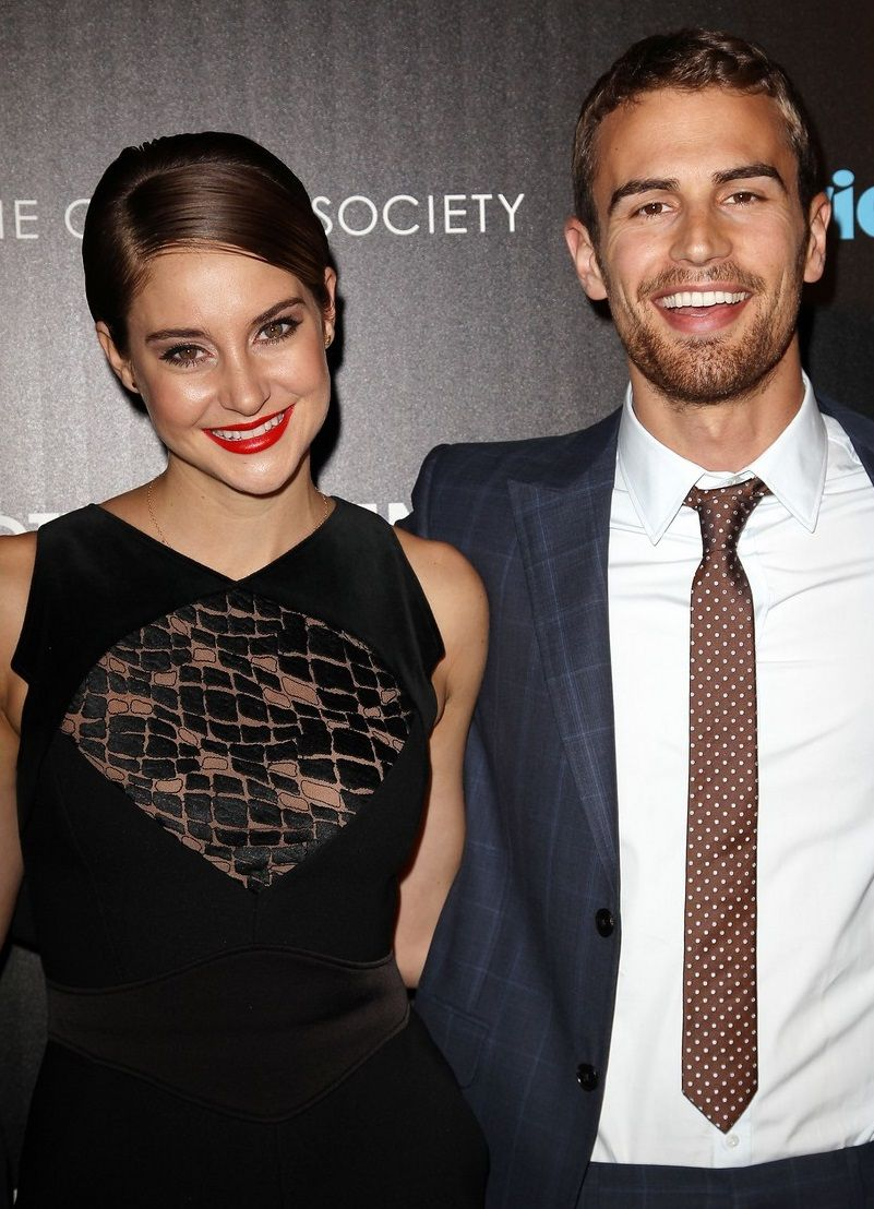 are shailene woodley and theo james dating 2015