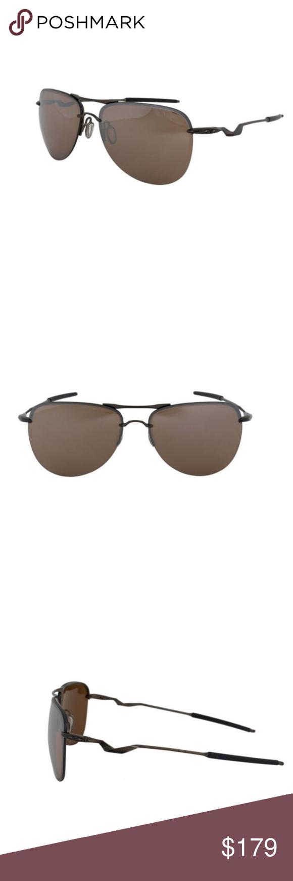 30447888b2 Oakley Tailpin Tungsten Iridium Pewter Sunglasses NWT