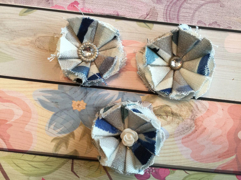 Small Blue & Cream by ReeseAndLayne on Etsy https://www.etsy.com/listing/241884491/small-blue-cream