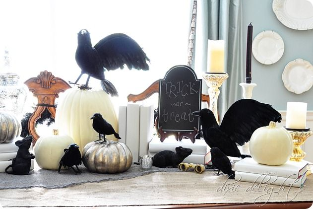 Come InsideIf You Dare Halloween Pinterest Halloween table - halloween diy decoration