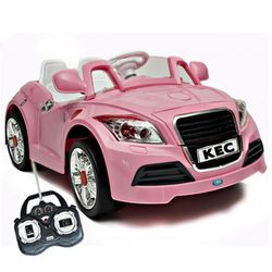 Pink Audi Style TT Kids V Car MP Remote Control Rideon - Audi 6v car