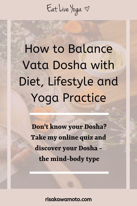 33+ How to balance vata trends