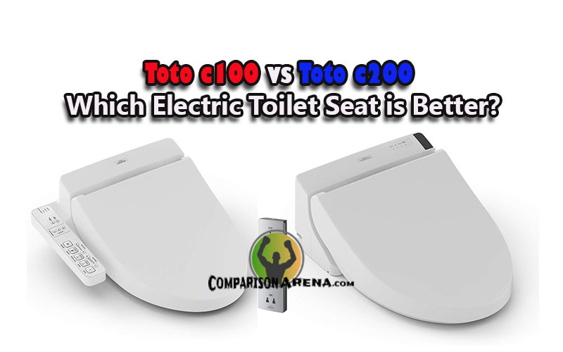 Toto C100 vs C200 Which Electric Toilet Seat is Better