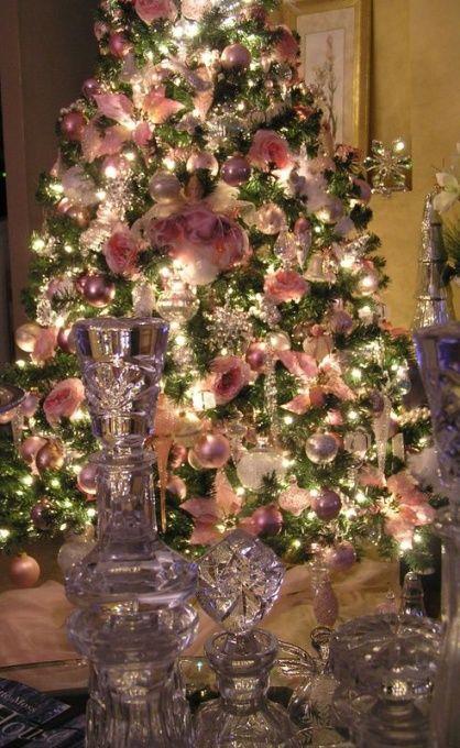 Pink christmas!!! Christmas!!! Pinterest Pink christmas