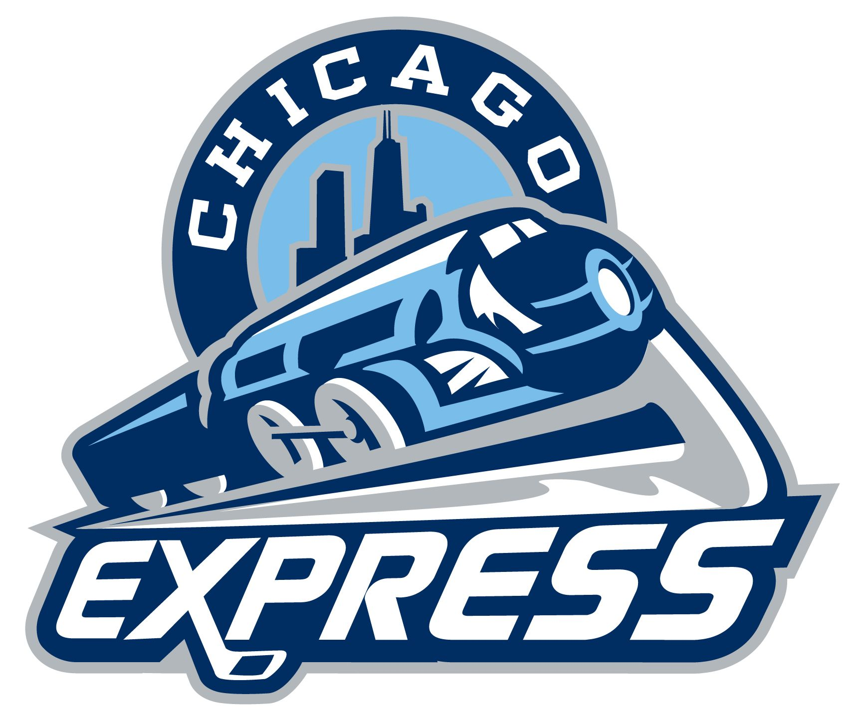 Express Train Logo Echl Welcomes Chicago Express To