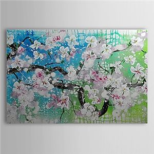 Hand Painted Oil Painting Floral 1305-FL0139