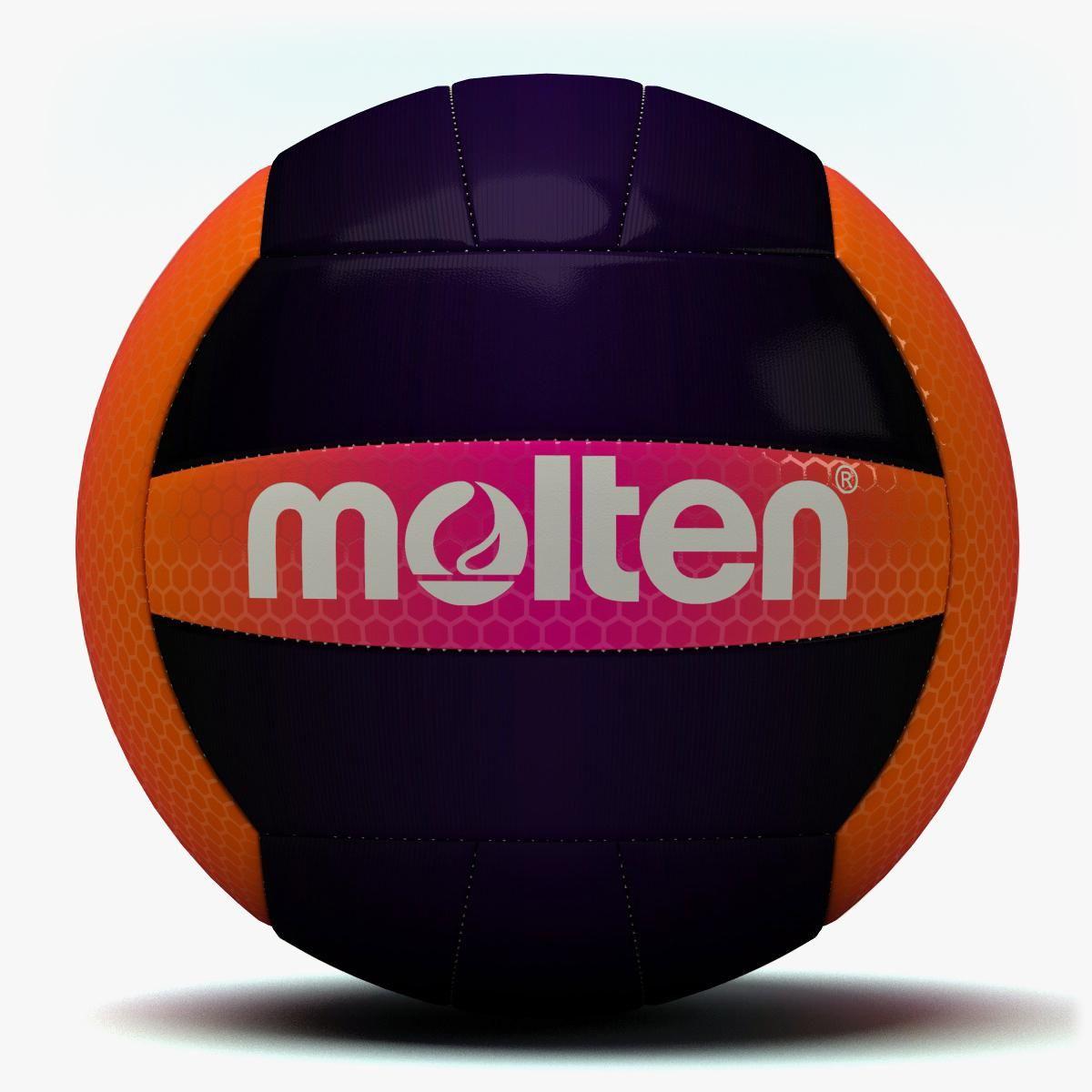 Molten Recreation Volleyball Volleyball Soccer Ball Model