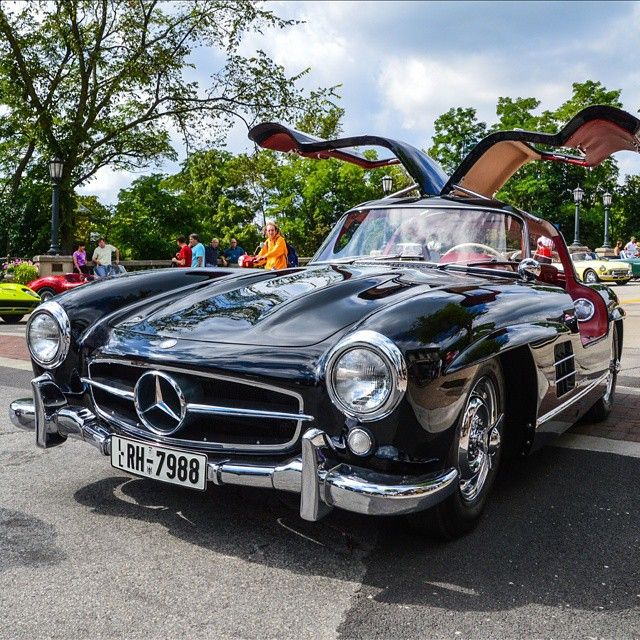 Iconic Gullwing Follow Our Friends @BeverlyHillsCarClub