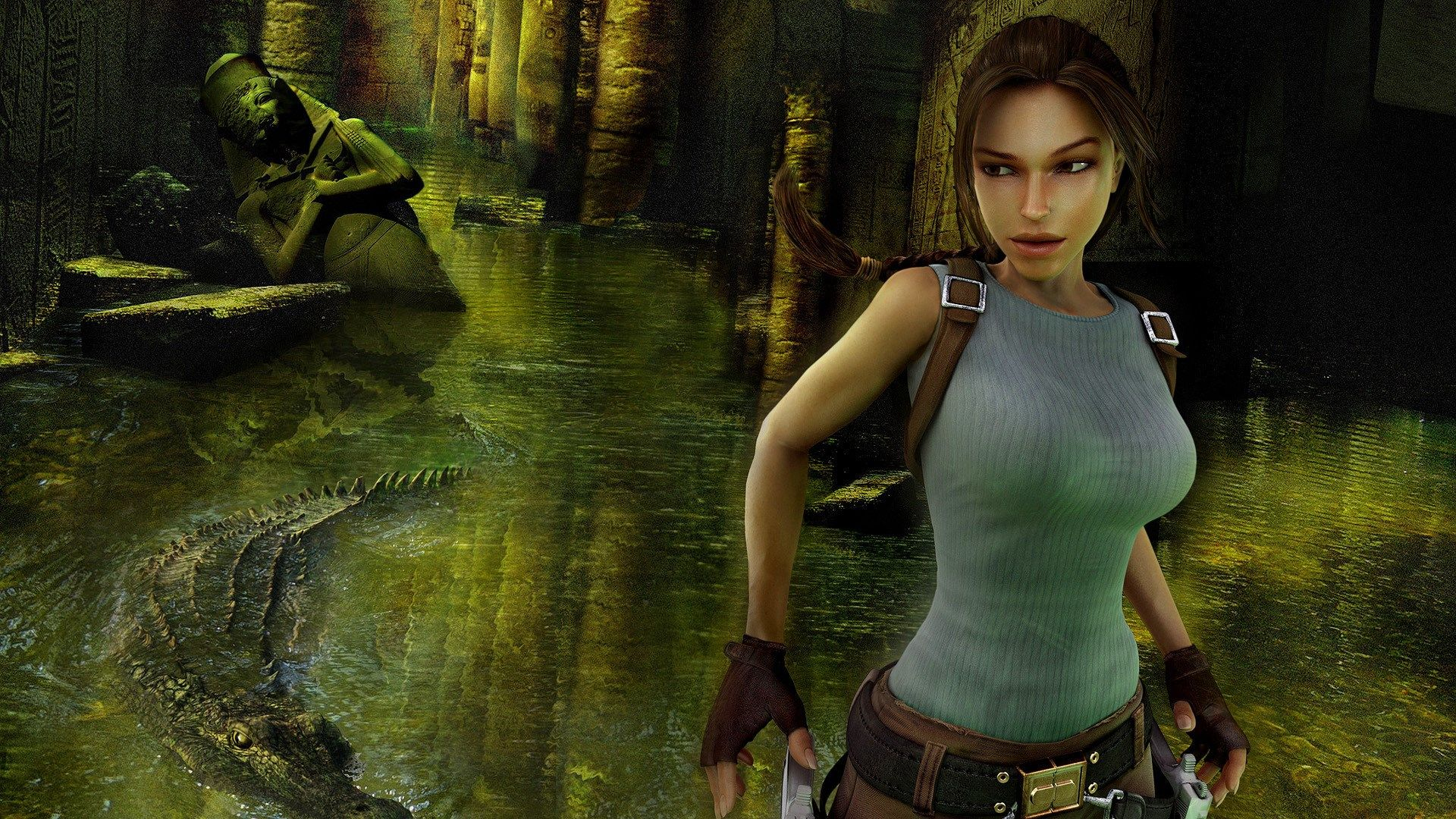 1920x1080 Hd Wallpaper Tomb Raider Anniversary Tomb Raider Game Tomb Raider Tomb Raider Lara Croft