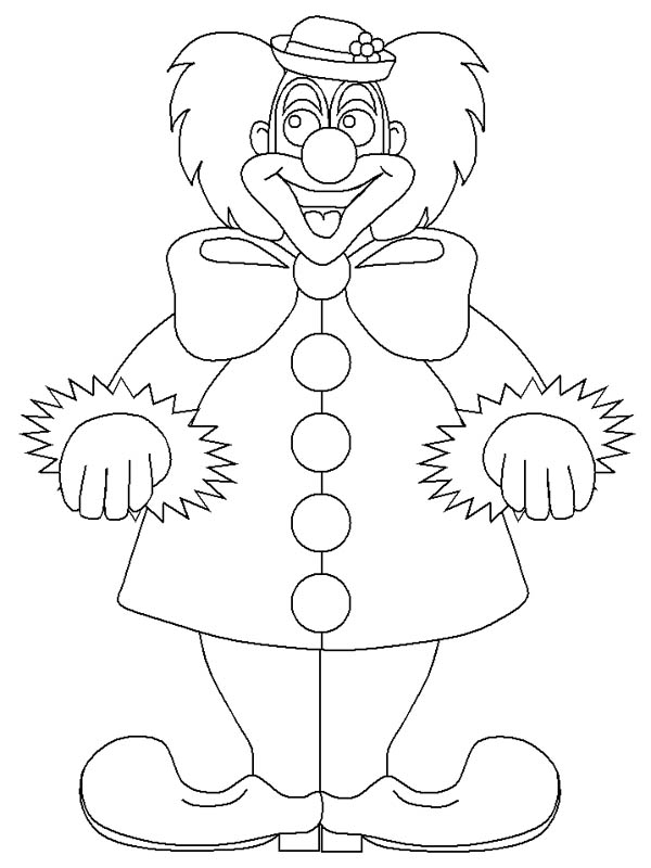 How To Draw Circus And Carnival Clown Coloring Pages Bulk Color In 2020 Halloween Coloring Pages Coloring Pages Coloring Pages Inspirational