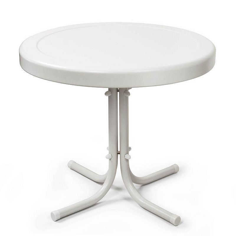 Surprising Crosley Outdoor Retro Metal Side Table In 2019 Products Download Free Architecture Designs Viewormadebymaigaardcom